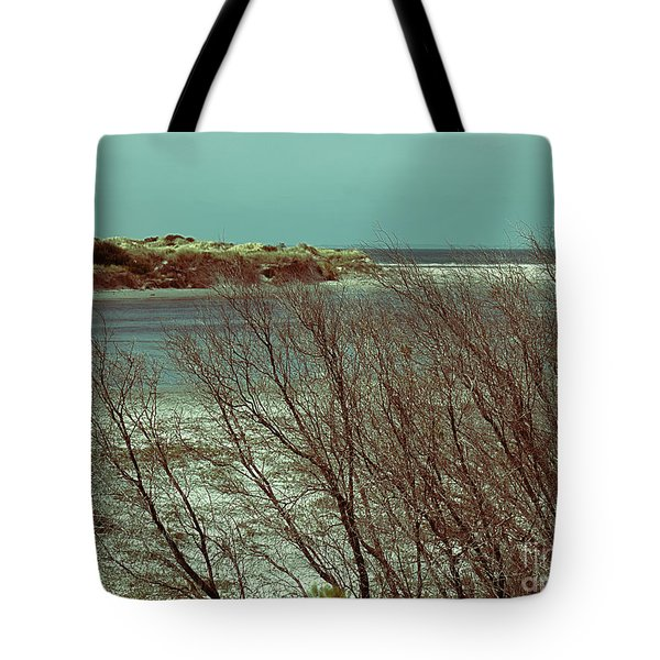 Tote Bag featuring the photograph Blackwood Rivermouth, Augusta, Western Australia by Elaine Teague