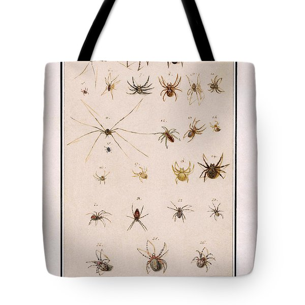 Blad Met Spinnen Tote Bag