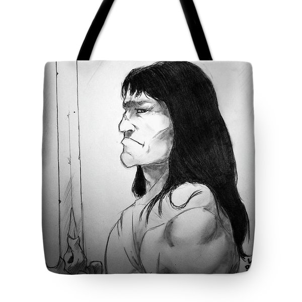 Blade Of Conan Tote Bag