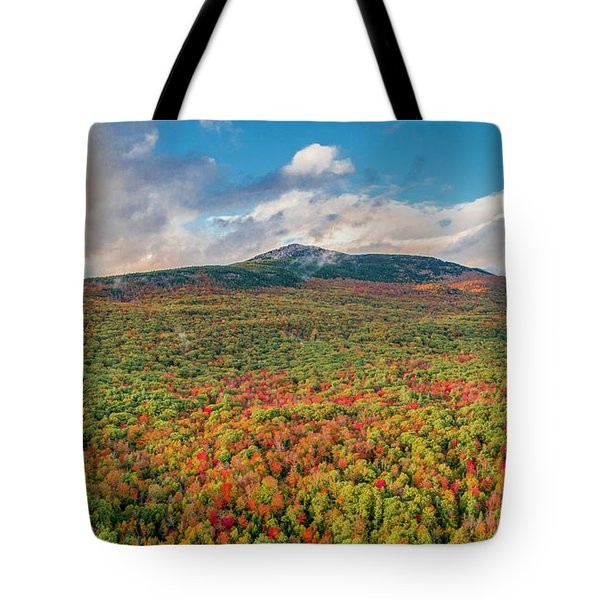 Tote Bag featuring the photograph Blanketed In Color by Michael Hughes
