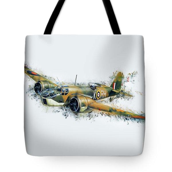 Blenheim Bomber Tote Bag