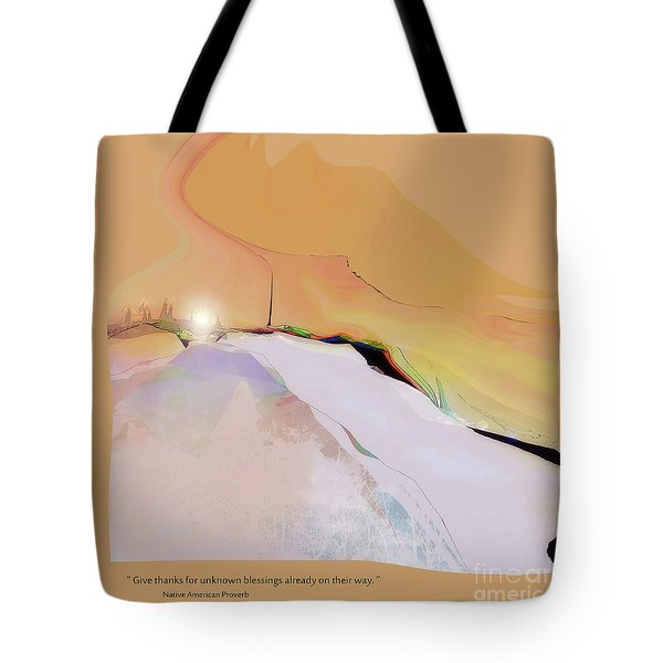 Blessings For All No. 1 Tote Bag