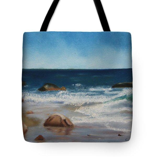 Block Island Surf Tote Bag