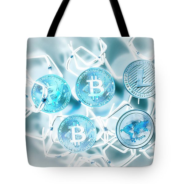 Blockchain Network Tote Bag
