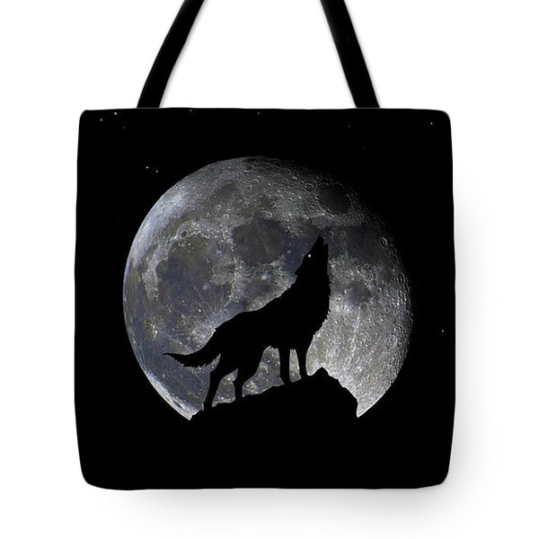 Pre Blood Red Wolf Supermoon Eclipse 873r Tote Bag