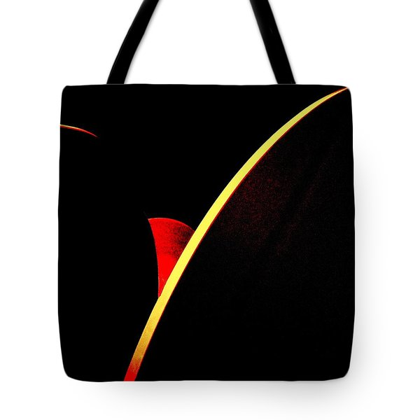Bloodmoonrise Abstract Tote Bag