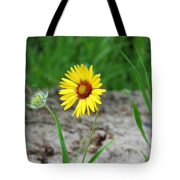 Bloom And Waiting Tote Bag