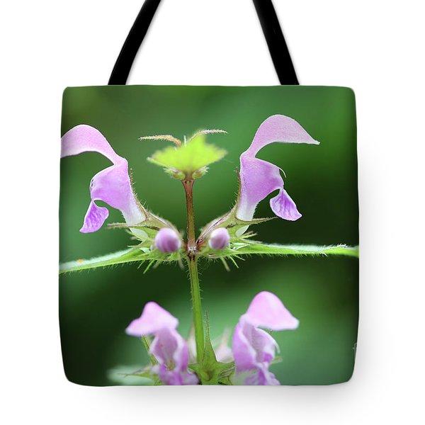 Blooming Blind Nettle Tote Bag
