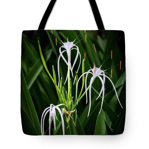 Blooming Poetry 4 Tote Bag