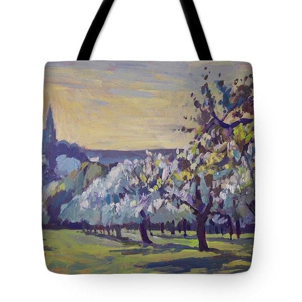 Blossom Trees Near Vijlen Tote Bag