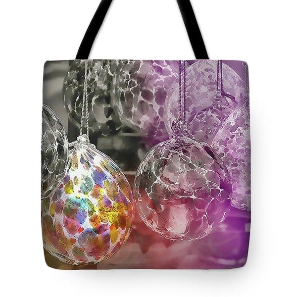 Blown Glass Ornaments Tote Bag