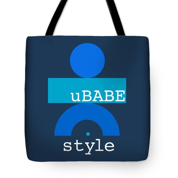 Blue Babe Tote Bag