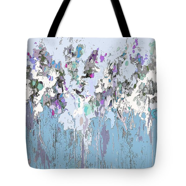 Blue Bloom II Tote Bag