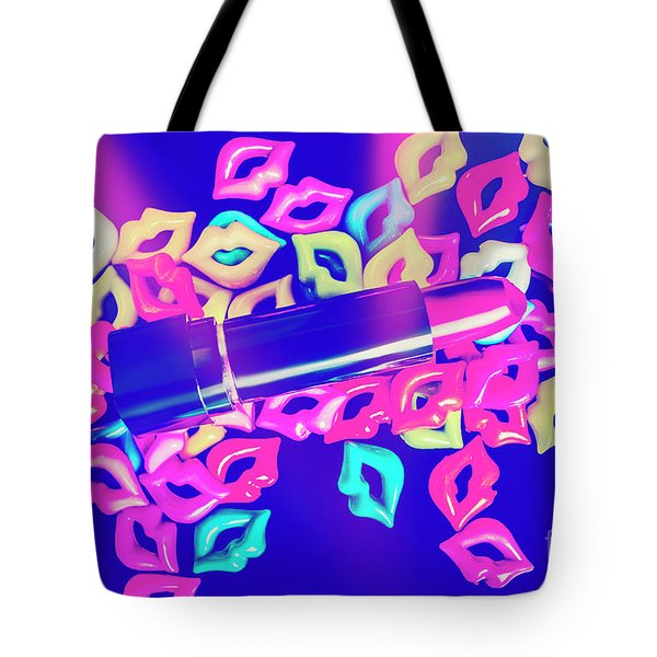 Blue Glam Tote Bag