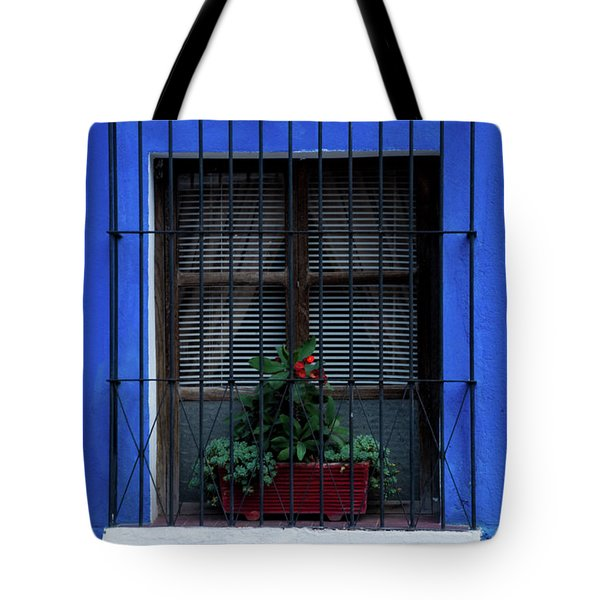 Blue-ming Beauty Tote Bag