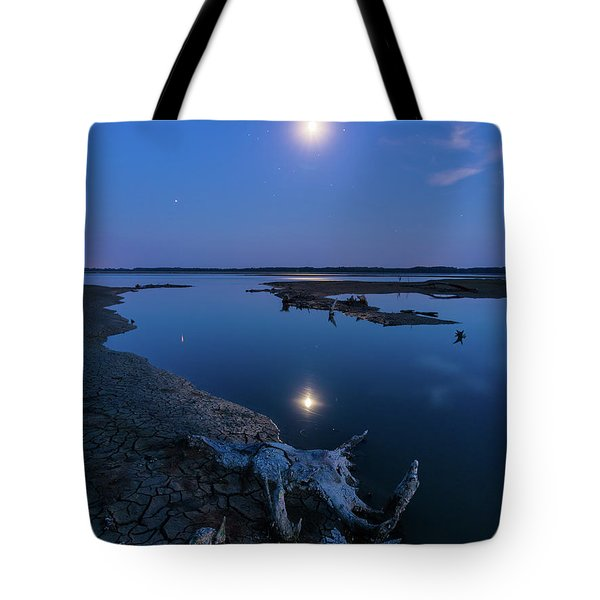 Blue Moonlight Tote Bag