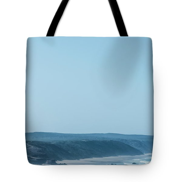 Tote Bag featuring the photograph Blue Paradise II by Anne Leven