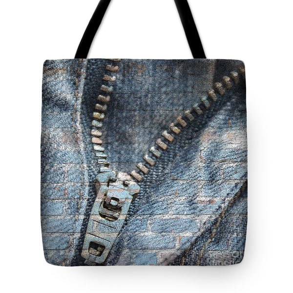 Sexy Blue Jeans Tote Bag