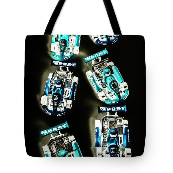 Blue Racers Tote Bag