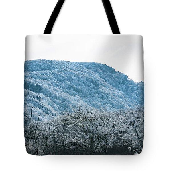 Blue Ridge Mountain Top Tote Bag