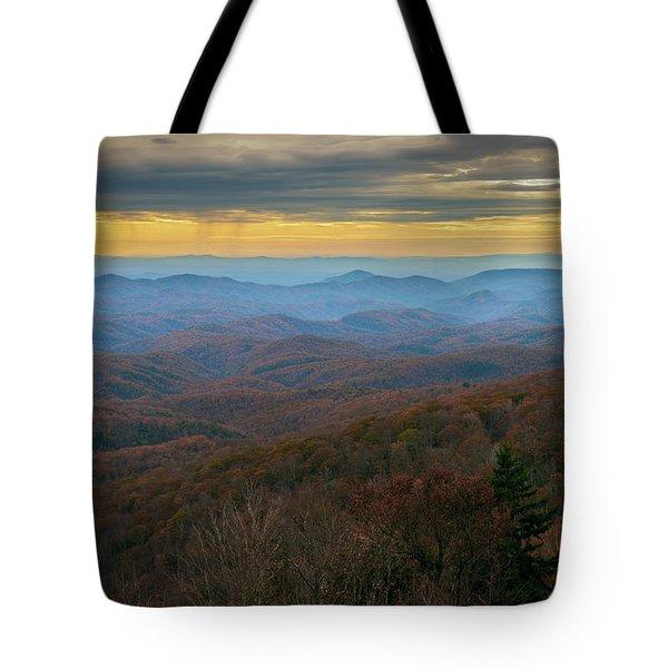 Blue Ridge Parkway - Blue Ridge Mountains - Autumn Tote Bag