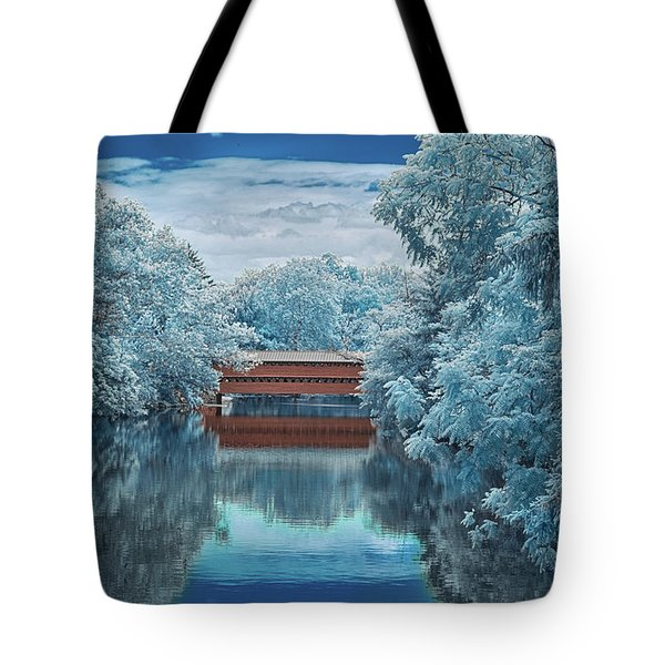 Blue Sach's Tote Bag