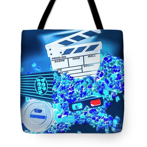 Blue Screen Entertainment Tote Bag