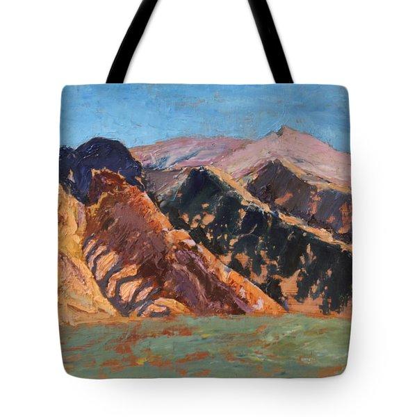 Blue Sky Canigou Tote Bag
