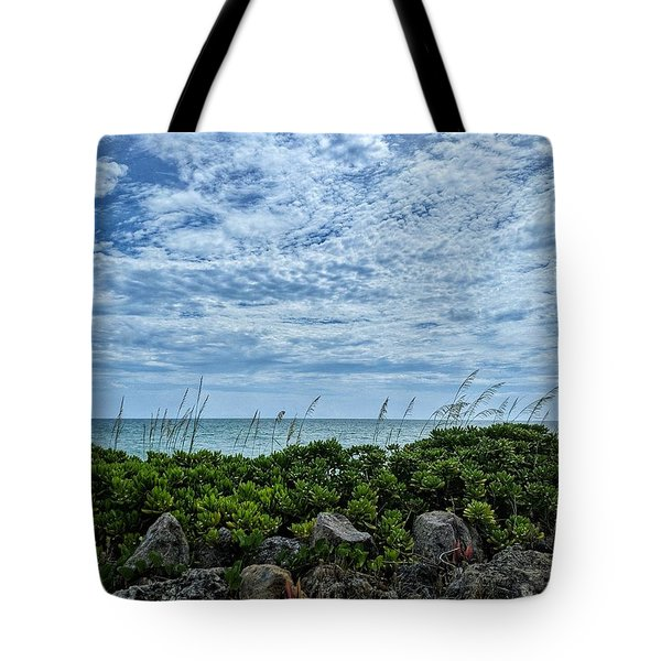 Blue Sky Lullaby Tote Bag