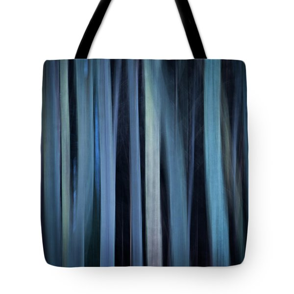 Blue Trees 1 Tote Bag