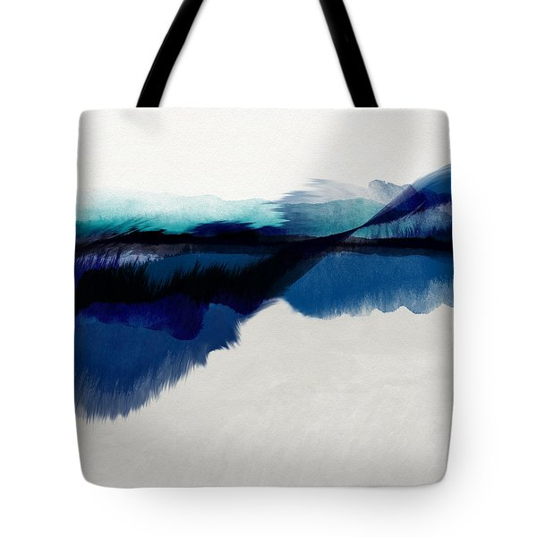 Blue Vista- Art By Linda Woods Tote Bag