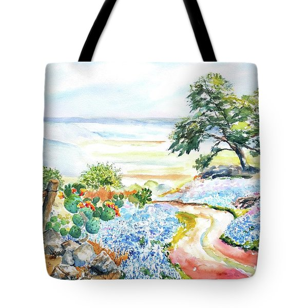 Bluebonnets - Texas Hill Country In Spring Tote Bag
