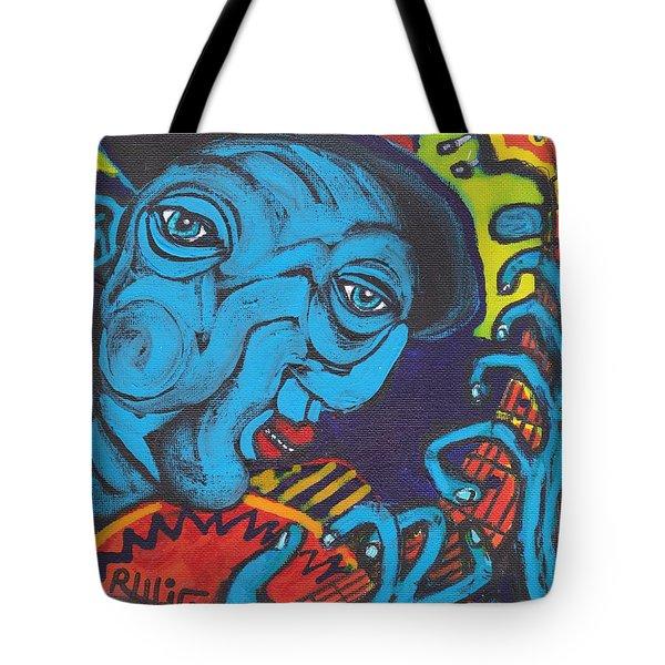 Blues Dude Tote Bag