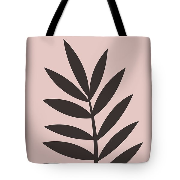 Blush Pink Leaf I Tote Bag