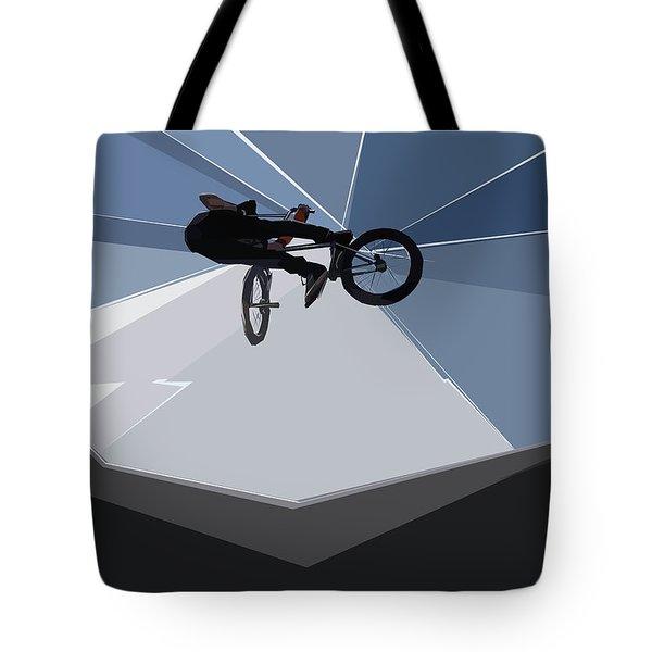 Bmx Biking  Tote Bag