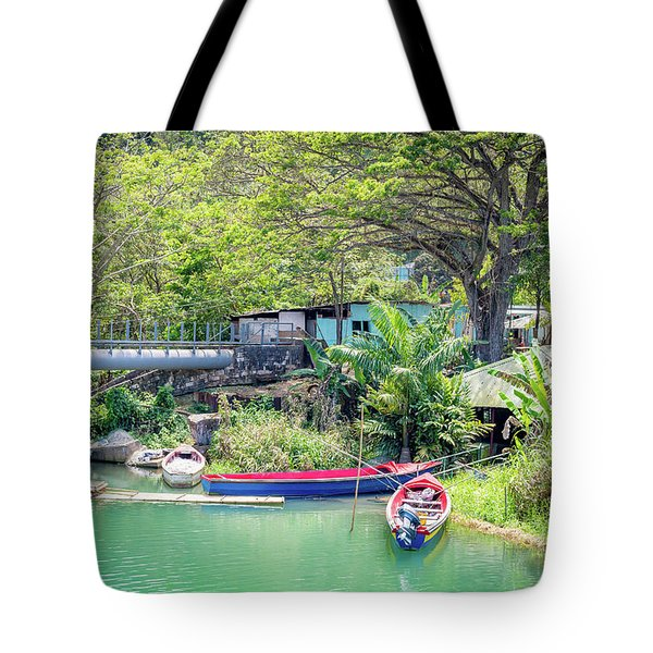 Boat And Rafting Tours Tote Bag