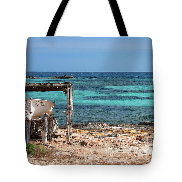 Boathouse With A View Tote Bag