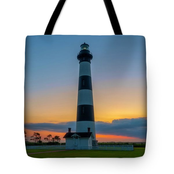 Bodie Island Lighthouse, Hatteras, Outer Bank Tote Bag