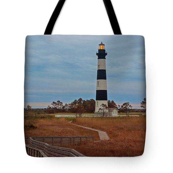 Bodie Island Lighthouse No. 4 Tote Bag