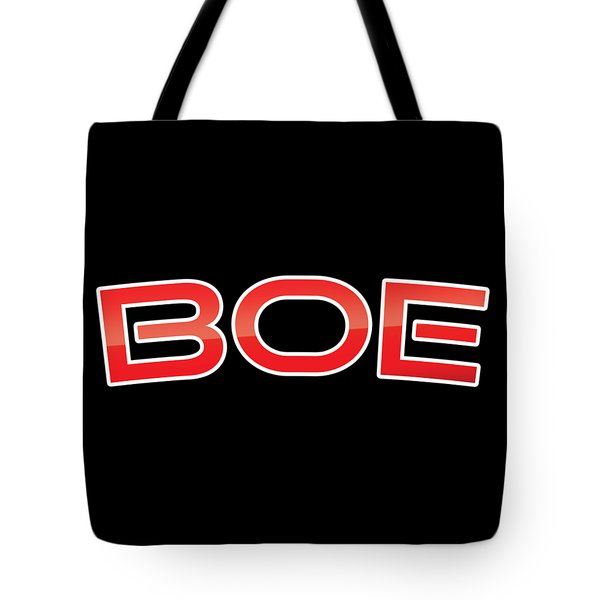 Tote Bag featuring the digital art Boe by TintoDesigns