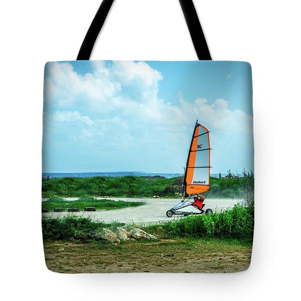 Bonaire Land Sailor  Tote Bag