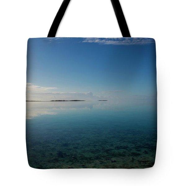 Tote Bag featuring the photograph Bonefish Flats, Great Exuma by Thomas Kallmeyer