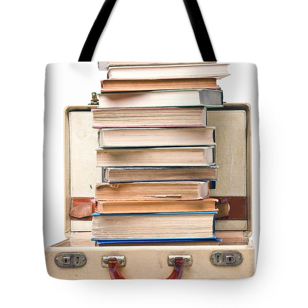 Book Lovers Vacation Tote Bag
