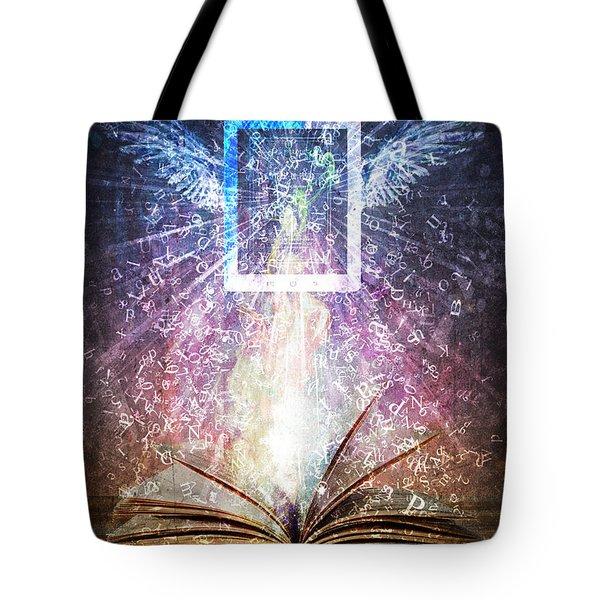 Book Reborn Tote Bag