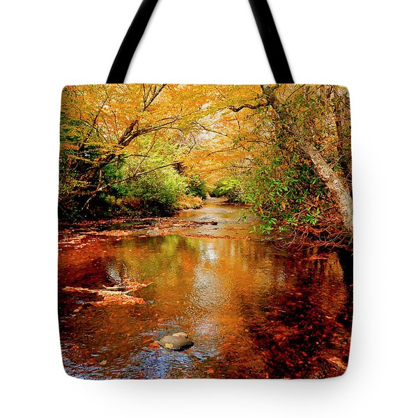 Boone Fork Stream Tote Bag