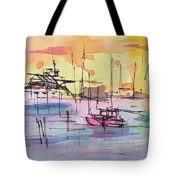 Boothbay 2  Tote Bag
