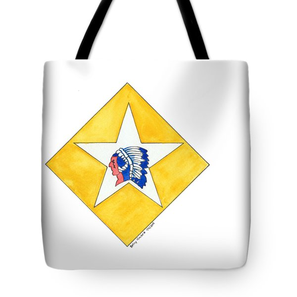 Tote Bag featuring the painting Bopp by Betsy Hackett