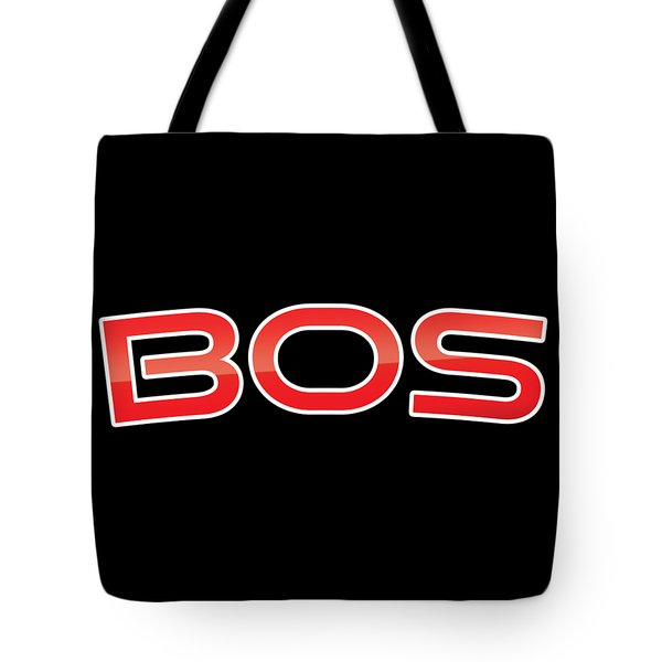 Tote Bag featuring the digital art Bos by TintoDesigns