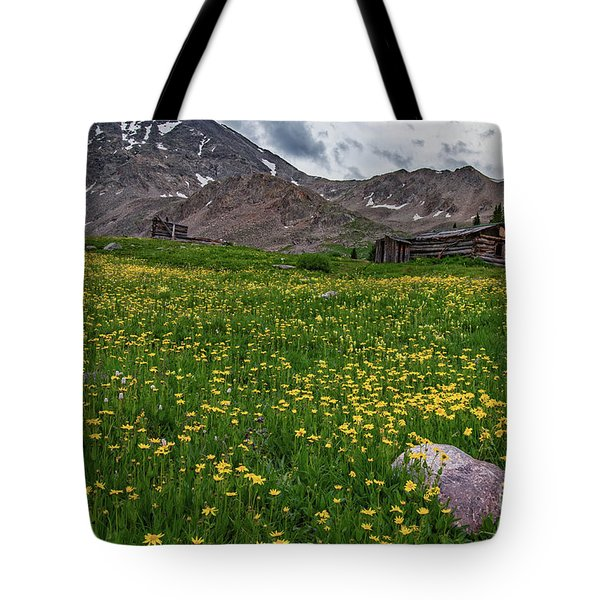 Tote Bag featuring the photograph  Boston Mining Company  by Bitter Buffalo Photography