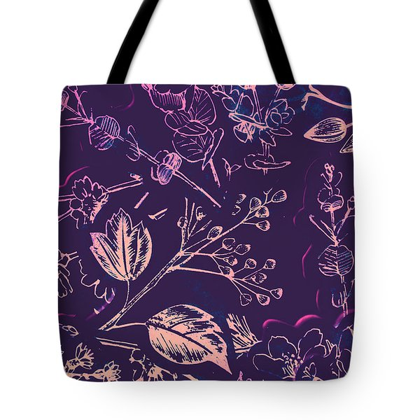 Botanical Branching Tote Bag